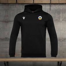 Branded black hoody