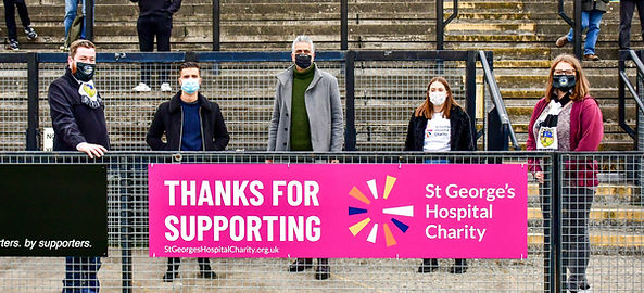 St Georges Charity Press release image .