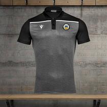 Black and Grey Polo Shirt