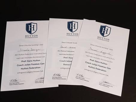 BJJ Instructorkurs HUTTON Federation
