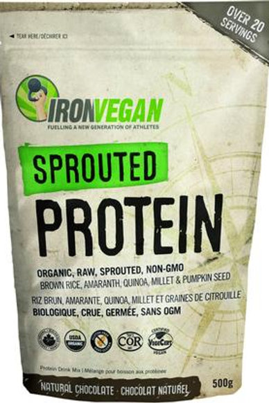 Iron Vegan - Sprouted Protein Natural