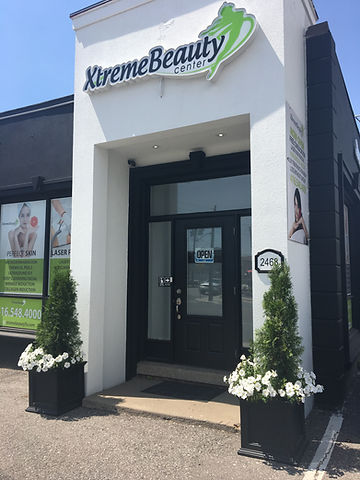 Main Entrance of XtremeBeauty Center