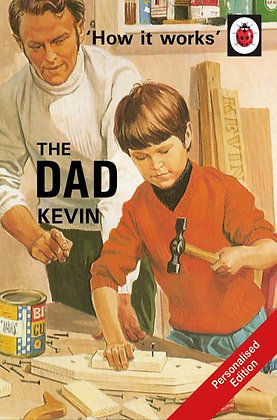 The Dad: A Ladybird Personalised Book