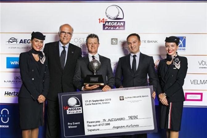 14th AegeanProAm 2019_Pro winner prize g