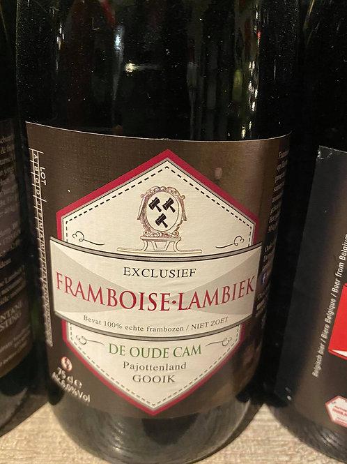 De Cam Framboise Lambiek 75cl