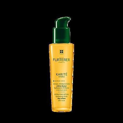 Karité Hydra Crème de jour hydratation brillance Cheveux secs 100ml