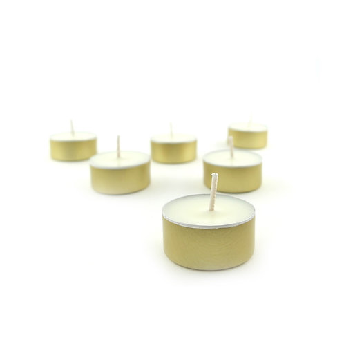 Lemongrass tealights
