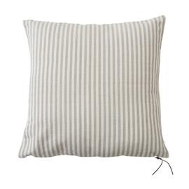 Natural Riviera Stripe Floor Cushion - 2