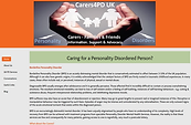 Carers4PD home page