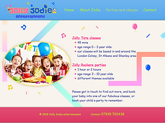 Jolly Jodie home page