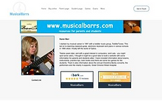 MusicalBarrs - home page