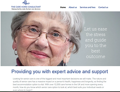 Care Home Consultant home page