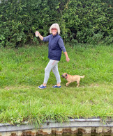 Sue takes her gin with her to open the next lock