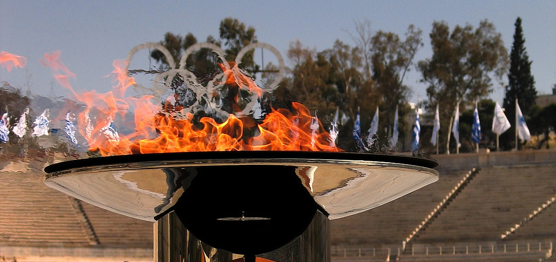 Olympic Flame - Athens