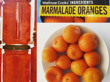 My first  attempt at marmalade was a success - eventually