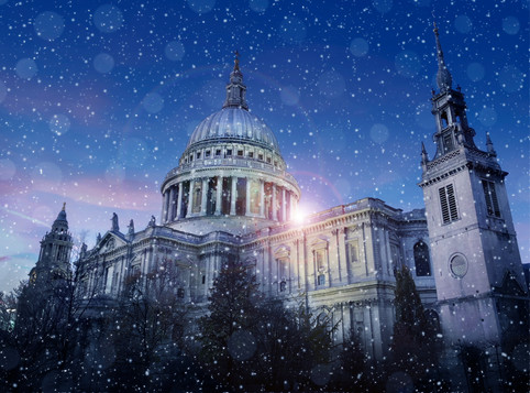 St Paul's Cathedral . London