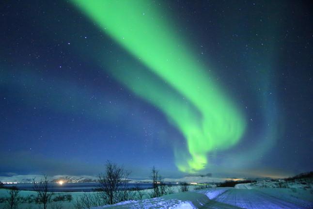 Northern Lights . Tromso