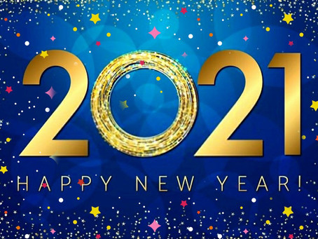 Happy New Year - all the best for 2021