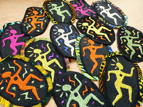 NEW Antikki Embroidered Patch