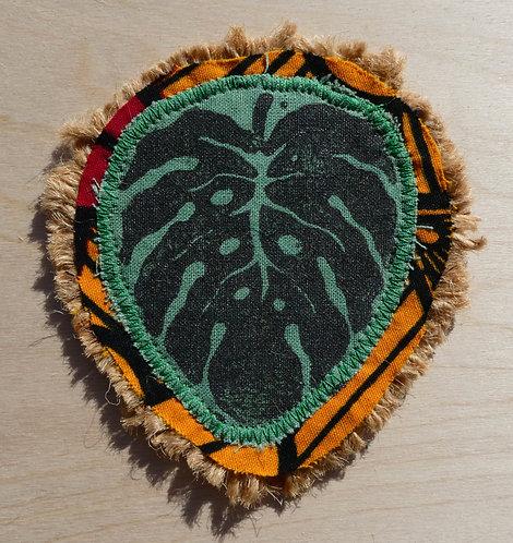 Handmade Leaf Patch