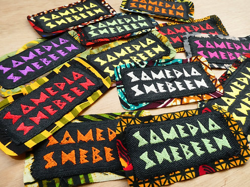 NEW Samedia Embroidered Patch