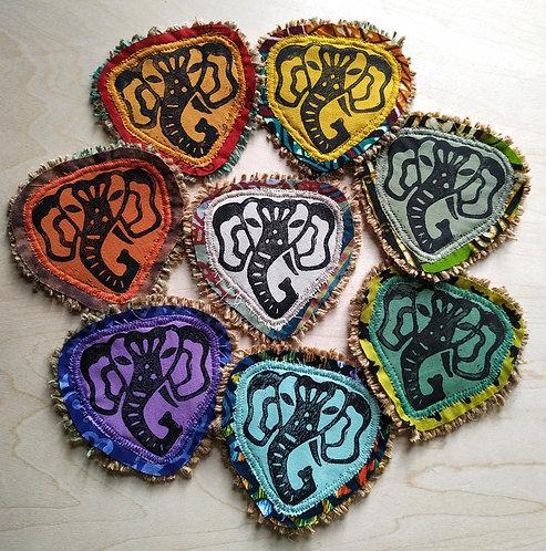 Handmade Elephant Ganesha Patch
