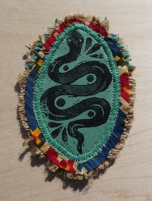 Handmade Serpent Patch