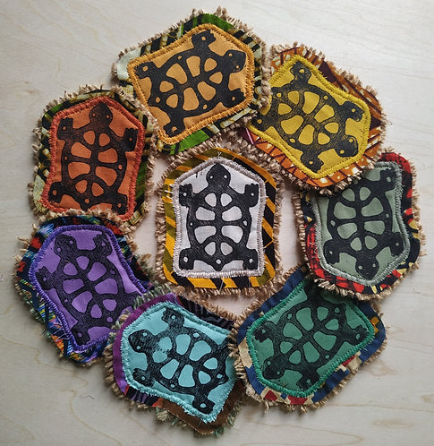 Handmade Turtle Patch
