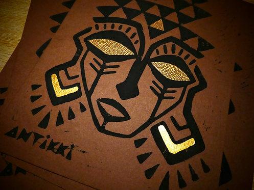 Handmade Mask Print