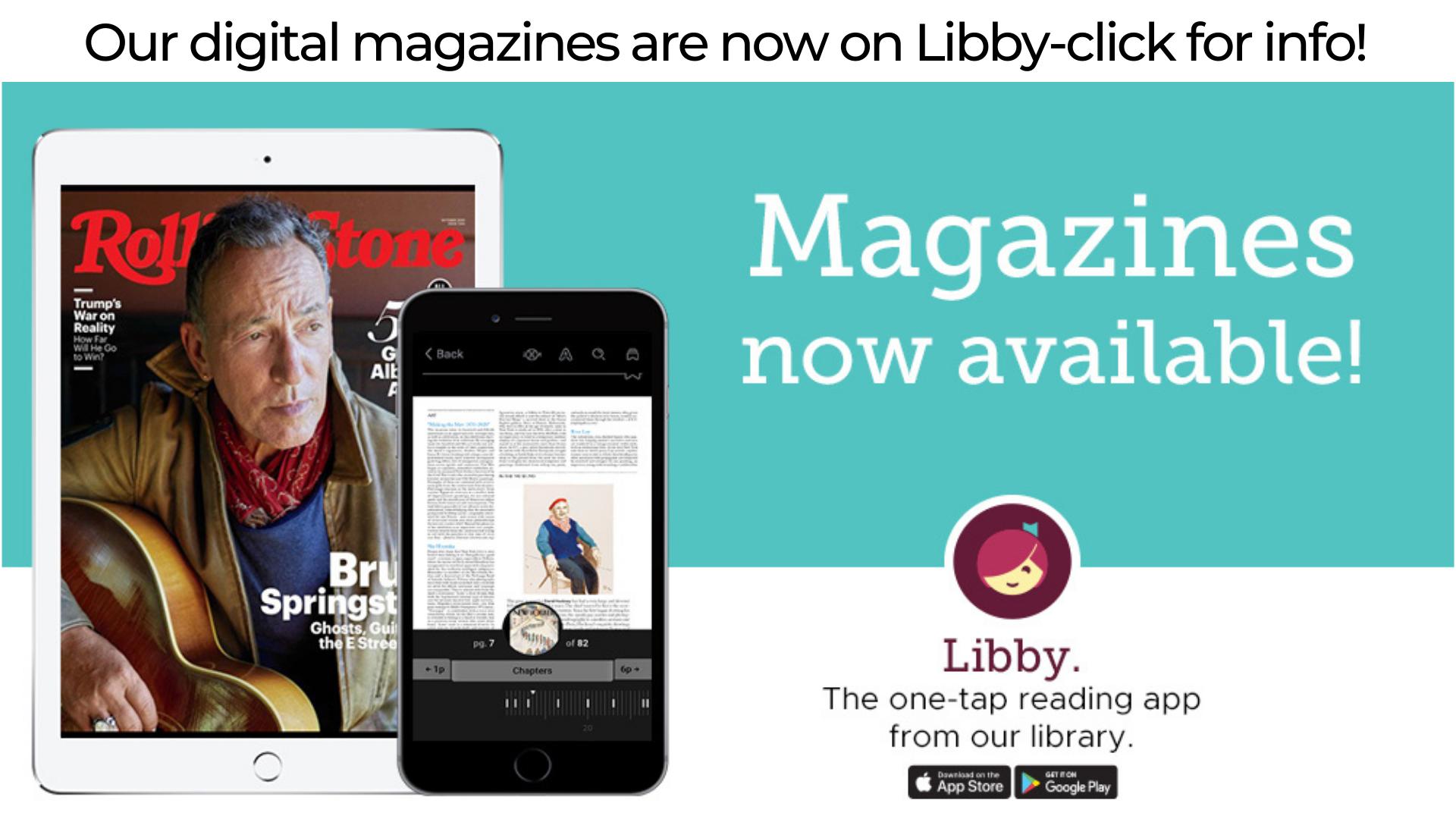 Libby eMagazines