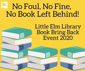 2020 Book Bring-Back Event: No Foul, No Fine, No Books Left Behind!
