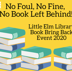 2020 Book Bring-Back Event: No Foul, No Fine, No Books Left Behind!