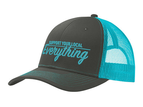 Support Your Local Everything trucker hats