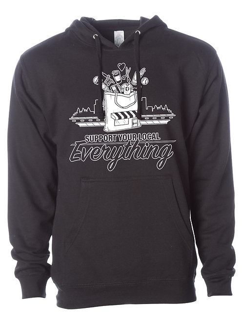Support Your Local Everything - Pullover Hoodie