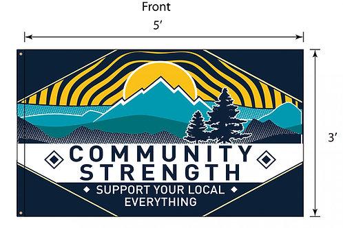 Community Strength Flag - 5'x3'