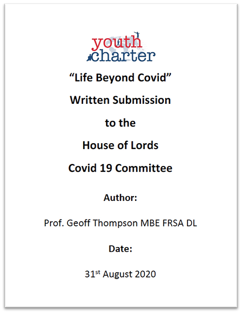 YC Life Beyond Covid House of Lords Inquiry submission (2020)