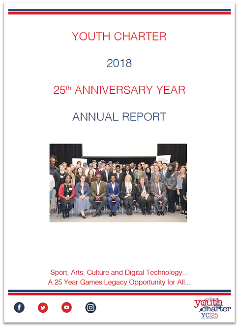 YC 2018 Annual Report - 25th Anniversary Year (2019)
