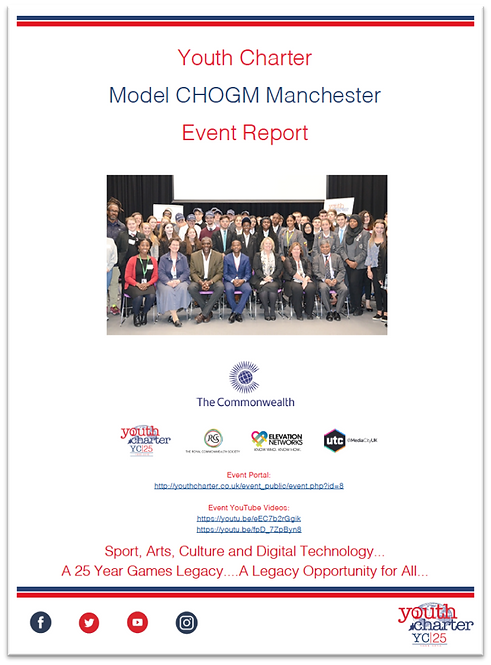 YC Model CHOGM Manchester Report (2018)