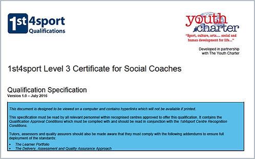 YC SCLP 1st4Sport SCLP Qualification