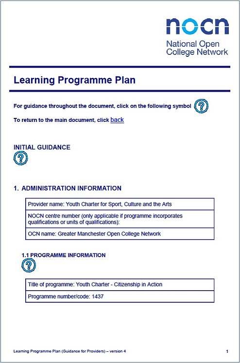 YC SCLP OCN Accreditation (2005)