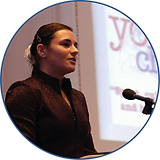 Dame Sarah Storey presenting at Youth Charter Call 2 Action event in Manchester (2004).png