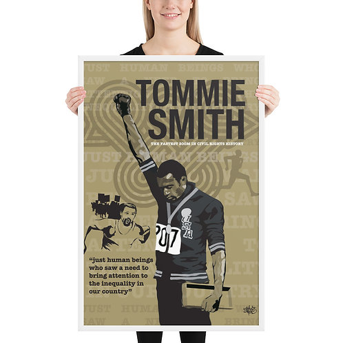 Tommie Smith Art Print