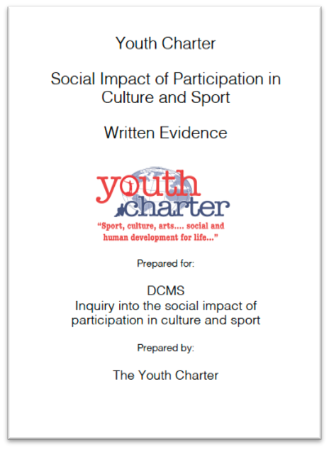 YC DCMS Social Impact Inquiry submission (2018)