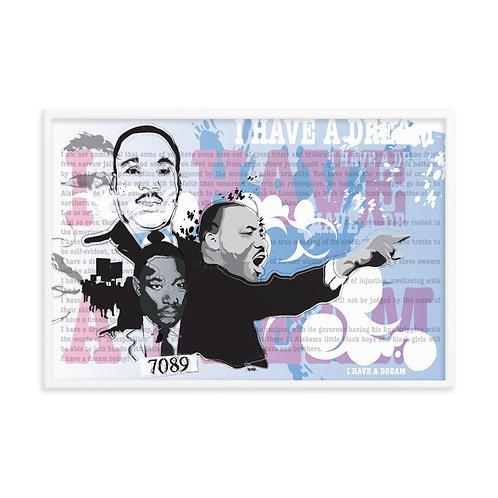 Dr Martin Luther King Jr Print