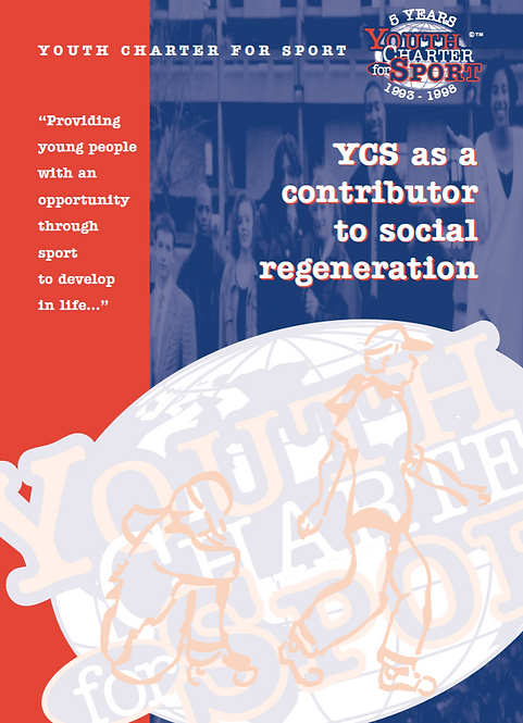 YC '5' Year Report - YC as a contributor to social regeneration (1998)
