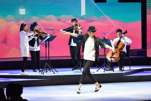 feat. Mr. Ken Kwok (R & T, Tap Dance)
