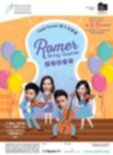 Romer String Family Concert Leaflet (wit