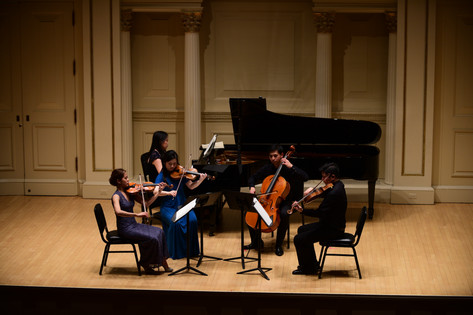 Carnegie Hall Debut 2016 (feat. Ms Cindy Ho, Piano)