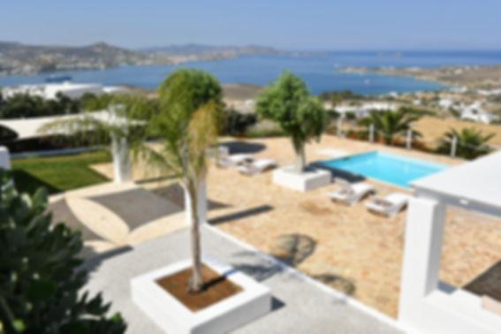 Althea villa 5 paros pool view