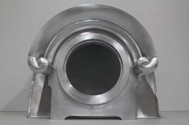 Oeil de boeuf en zinc